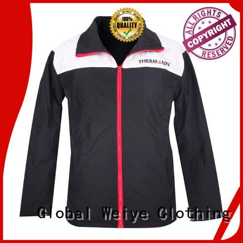 Global Weiye high quality dark green jacket mens snow for women