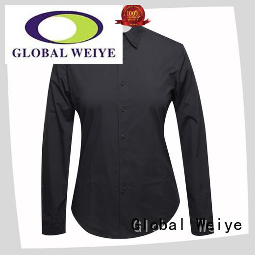 Global Weiye vertical work uniform shirts for sale