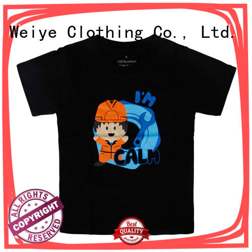 Global Weiye cartoon cool shirts for boys order for children
