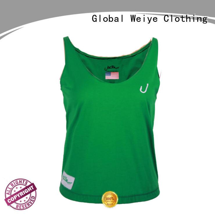 women's tank tops cotton high quality wholesale Global Weiye