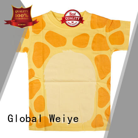 Global Weiye toddler cool t shirts for boys long round for sale