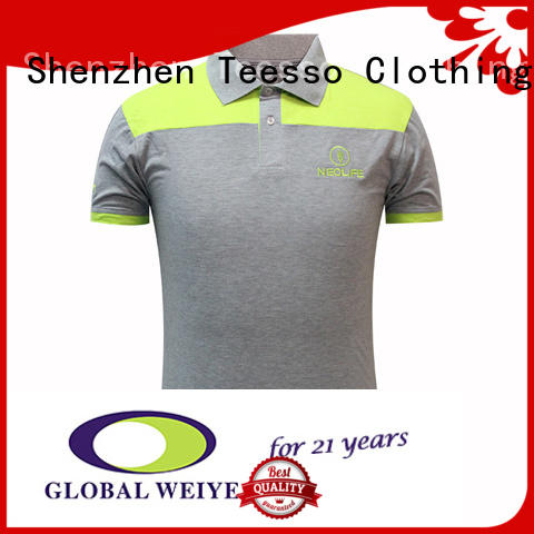 Teesso cuff cool polo shirts sleeves for men