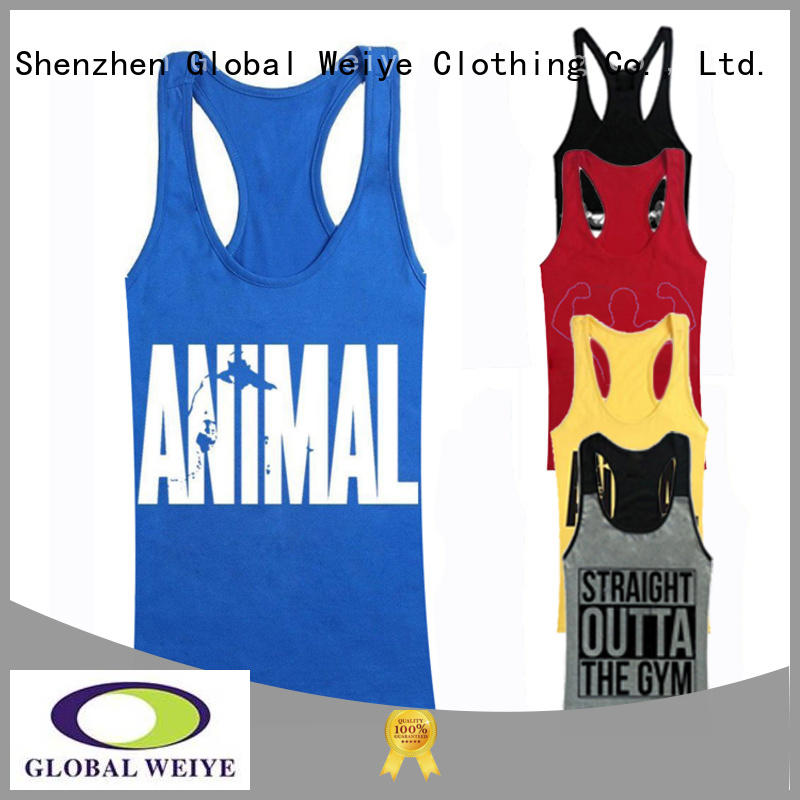 cotton tank own mens tank Global Weiye
