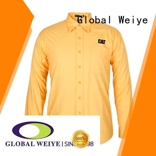 vote work uniform shirts with zipper for sale
