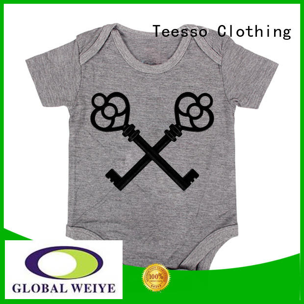 Teesso printing baby outfits with your logo for sale