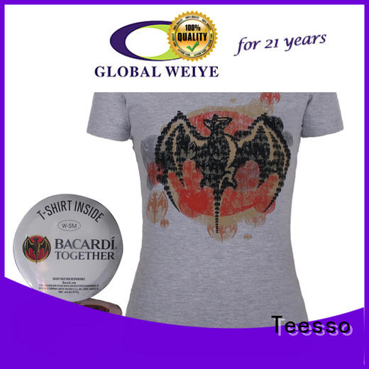 Teesso custom compression shirts printing for sale