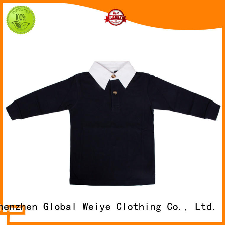 colorful toddler polo t shirts online for children Global Weiye