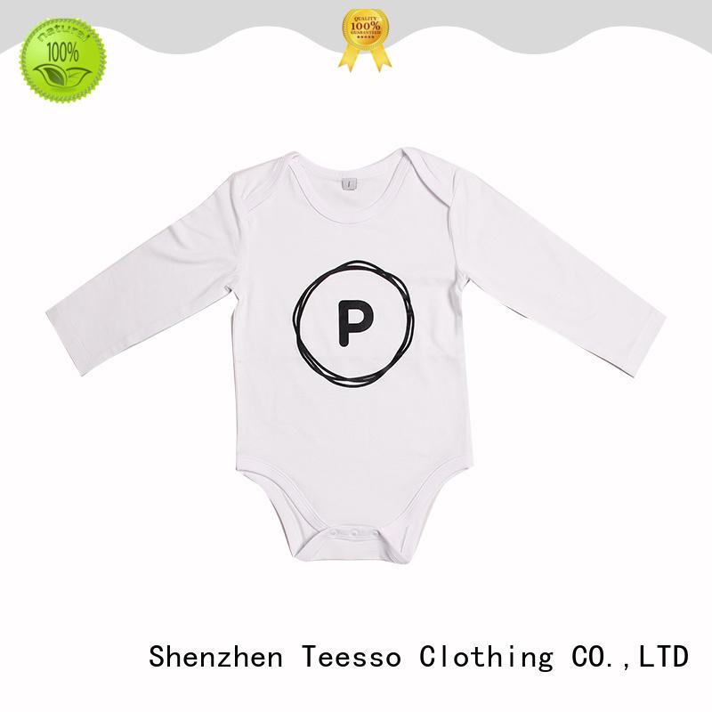 Teesso baby girl onesies oem for baby