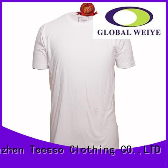 hem high quality blank t shirts apparel for women