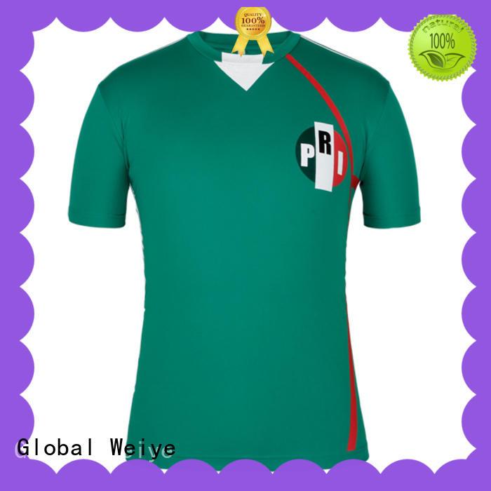 Global Weiye customized soccer shirts hot sale for sale
