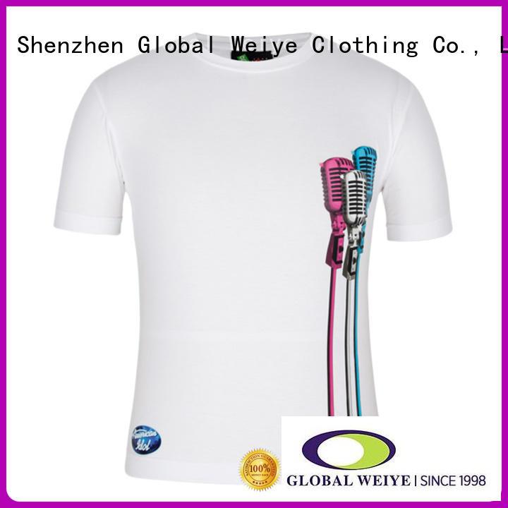 quality funny men printed shirt design Global Weiye Brand company