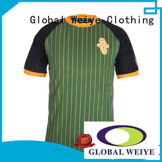 Global Weiye customized international soccer jerseys online for girls