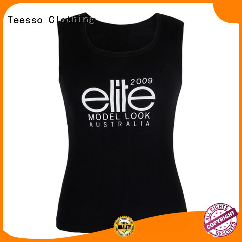 Teesso quick dry low cut tank tops womens into for girls
