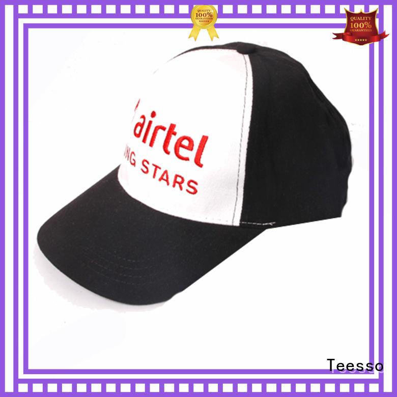 Teesso ball cap logo for men
