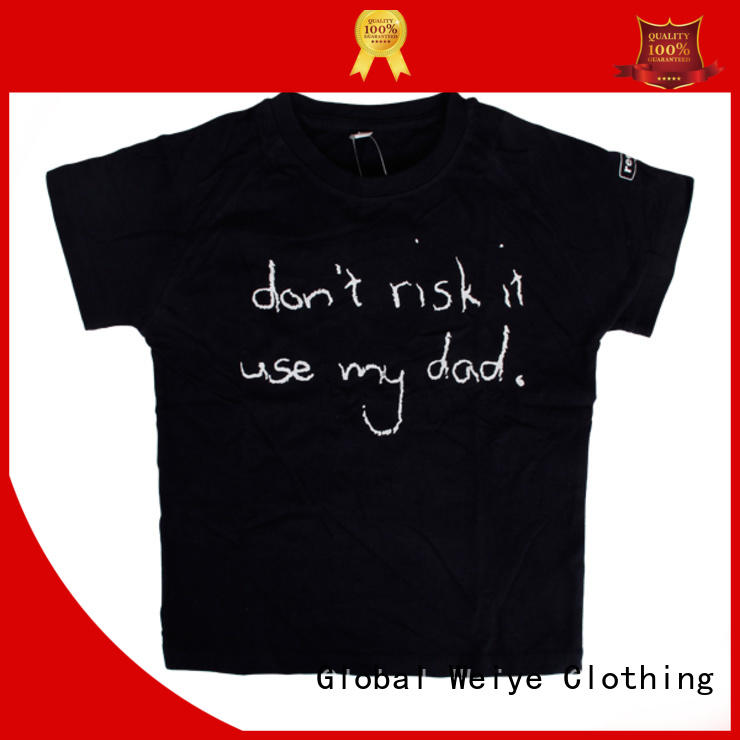 Global Weiye tees cool t shirts for boys online for sale