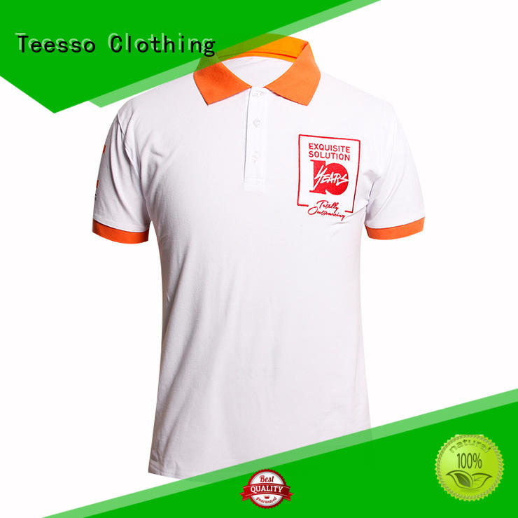 Teesso short sleeve polo brands for guys