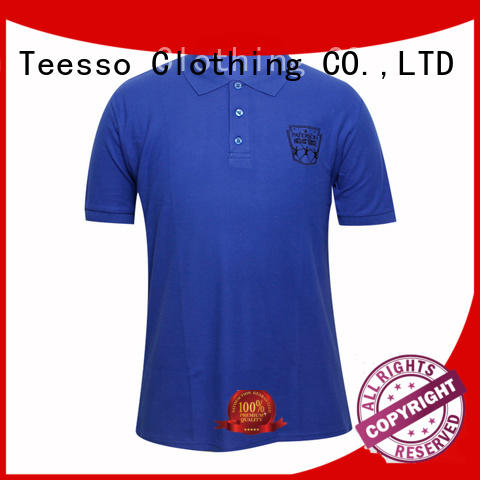 Teesso polo shorts mens embroidery for guys