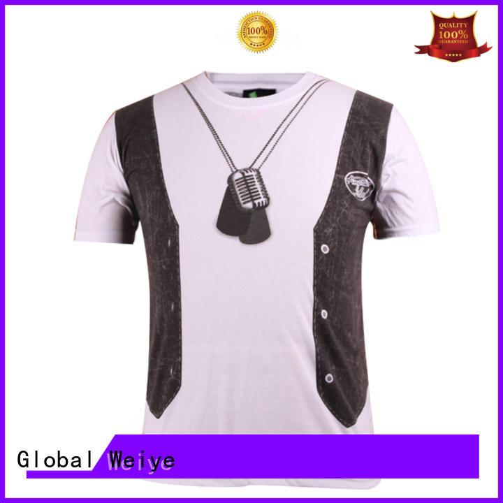 Global Weiye men mentshirt cotton manufactures