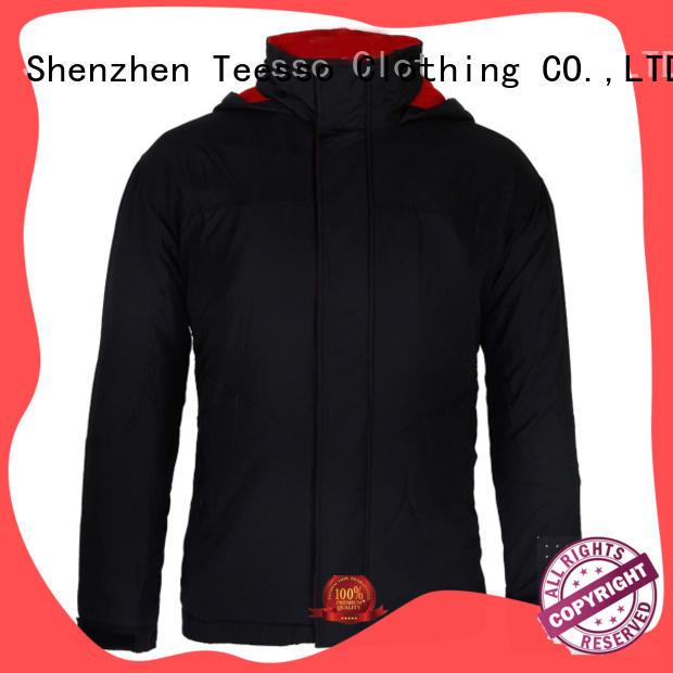 Teesso white warm jacket company for men