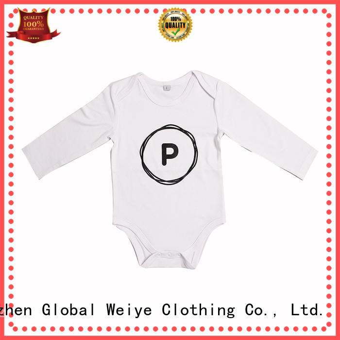 Global Weiye baby suit with round neck for baby