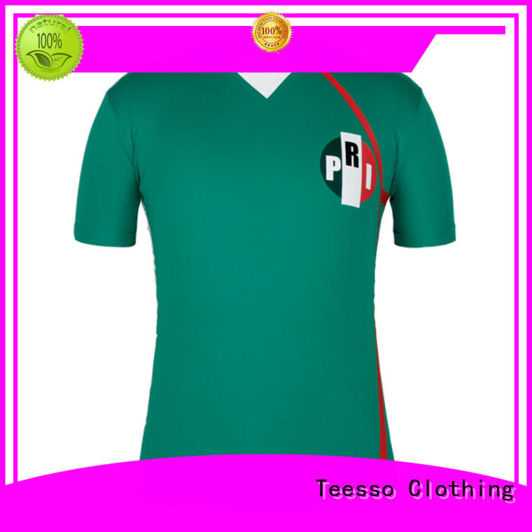 Teesso football youth soccer jerseys personalised design for men