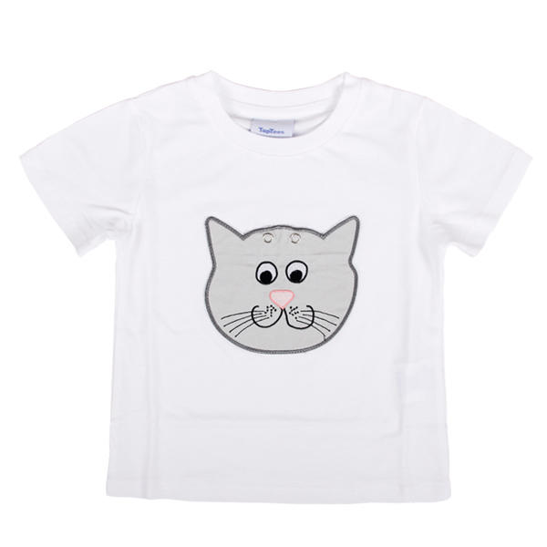 Global Weiye cartoon cool kids t shirts polyester for children-3