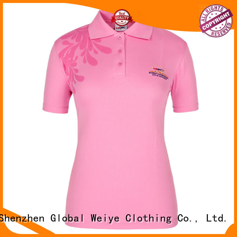 collared misses polo shirts fit for sale Global Weiye