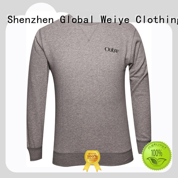 Global Weiye heavy cheap sweatshirts colorful for sale