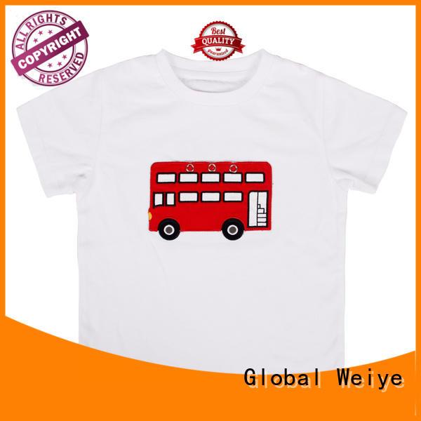 Global Weiye cartoon cheap childrens t shirts bulk for sale