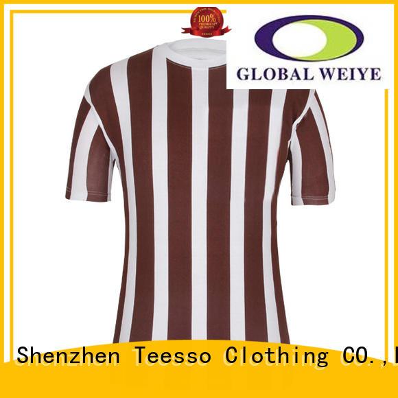 Teesso football custom made soccer jersey online for girls