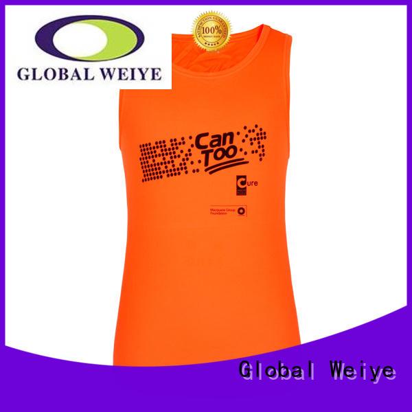 Global Weiye gym mens tank tops online for men