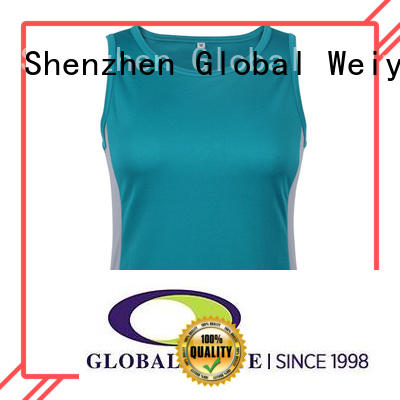 running ladies muscle tops quick gym Global Weiye Brand