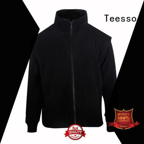 Teesso mens long jacket with hood supply for men