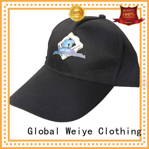 Global Weiye promotional sports cap panels for men