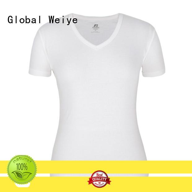 Global Weiye own basic tees womens printed for event