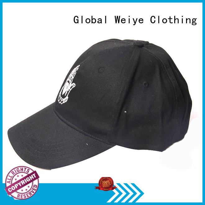 Global Weiye stylish baseball caps summer wholesale