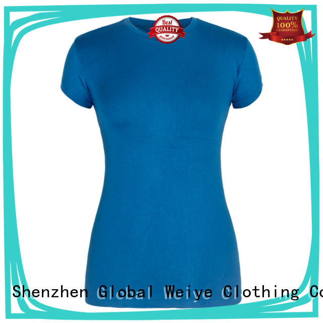 Global Weiye fitted tees womens custom for girls