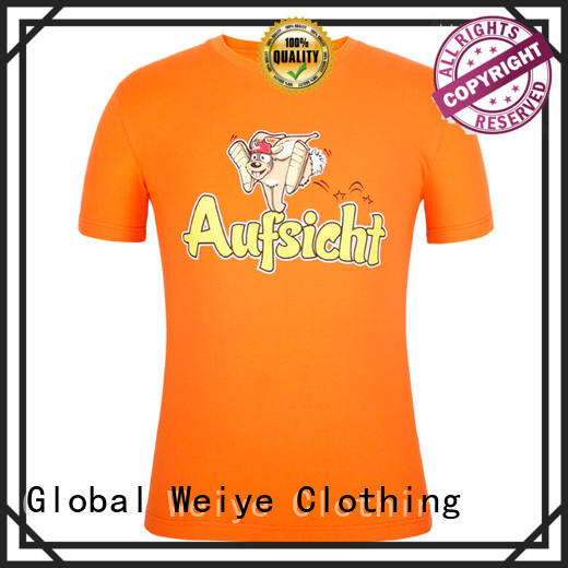 hot sale mens casual tees cotton for promotion Global Weiye