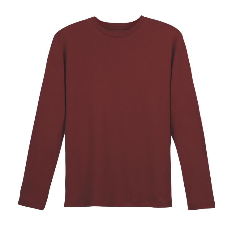 Brand Quality Create Your Own Brand Men Custom Blank 100 Cotton Long Sleeve T shirt