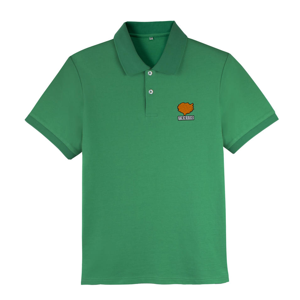 Brand Quality Embroidered Cute Design Polo T shirt 100 Cotton Men Manufacturer China