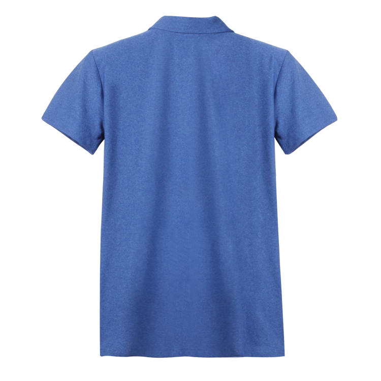 Brand Quality China Supplier 100 Cotton Blank Men Polo T shirts in Blue