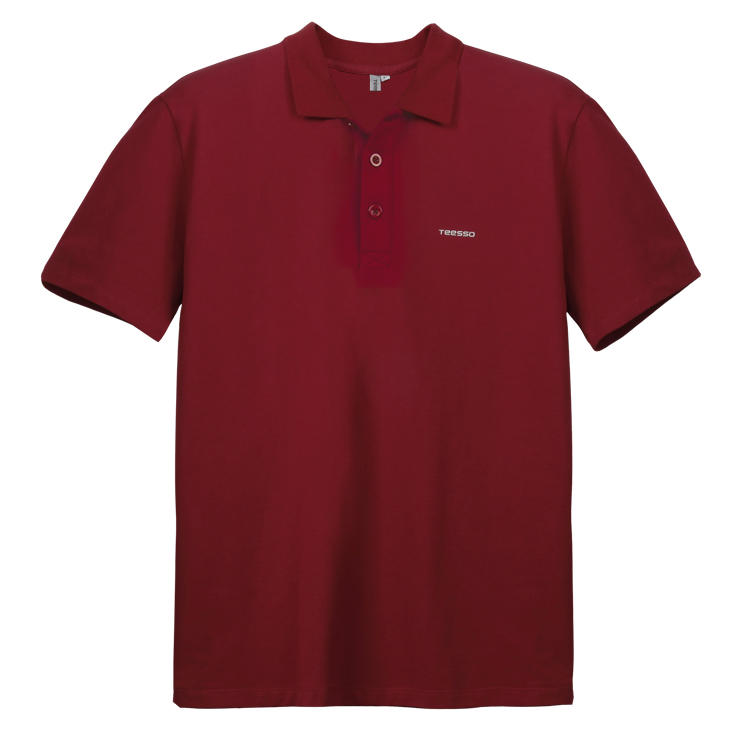 Brand Quality Custom Brand Red 100 Cotton Polo T shirt Printing Quality