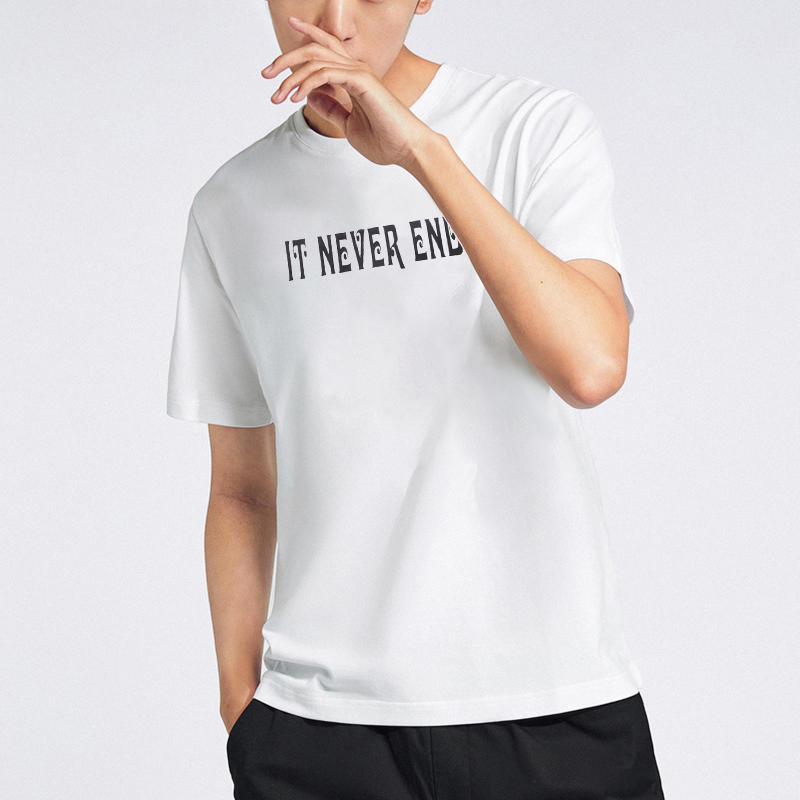 Brand Quality Best Selling 100 Cotton Short Sleeve Screen Printed Custom Mens T shirt