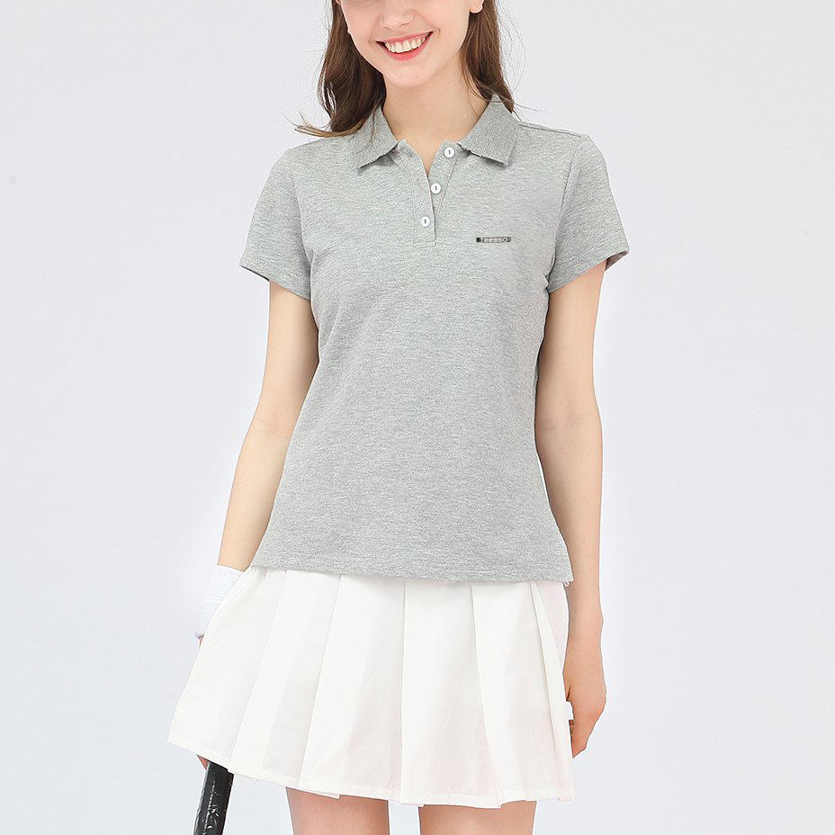 Brand Quality China Factory 100 Cotton Design Your Own Polo Shirt Women with Logo