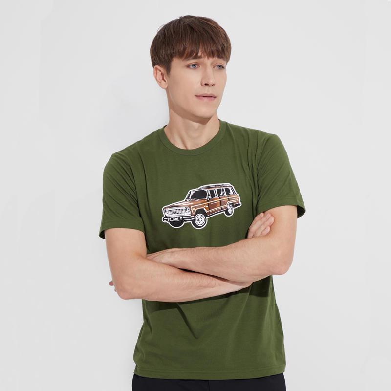 Brand Quality China Factory Fashional Design Crewneck Men's High Quality Printed T-shirt