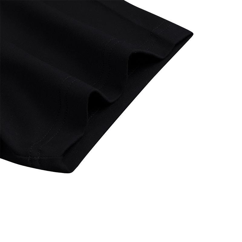 Brand Quality Black Printed High Quality Mens Pima Cotton Custom Printing T shirts with Logo