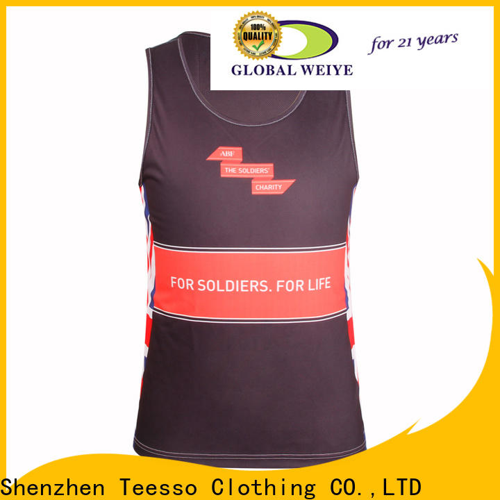 Teesso mesh mens workout tank tops company