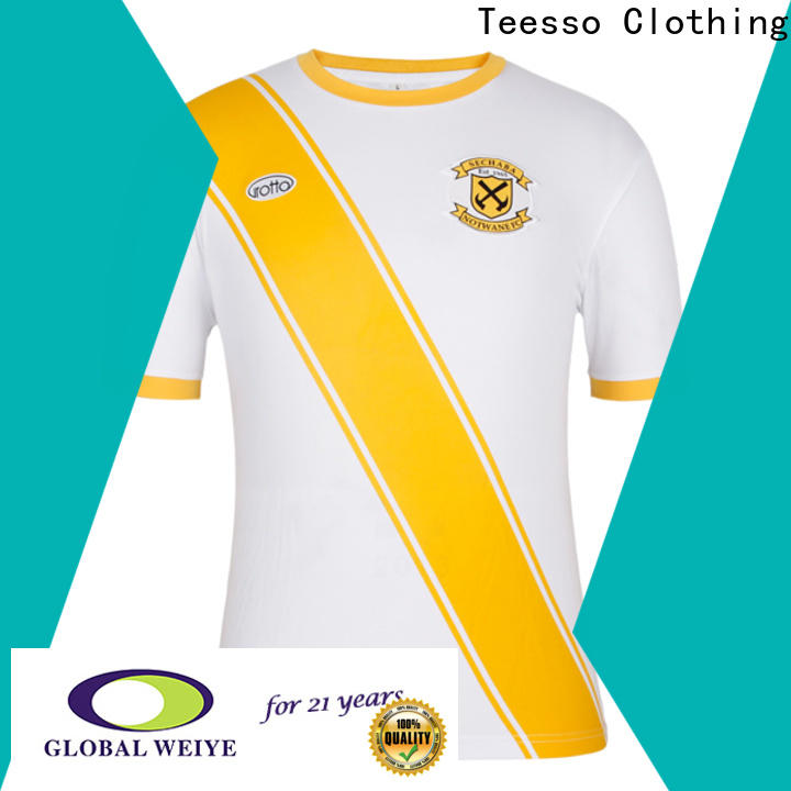 Teesso pro soccer jerseys personalised design for girls