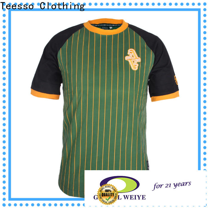 Teesso pro soccer jerseys personalised design for sale