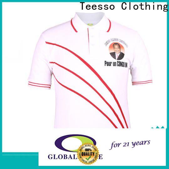 Teesso basic campaign shirts suppliers for activities